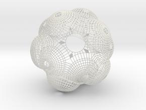 Chandelier_wire in White Natural Versatile Plastic