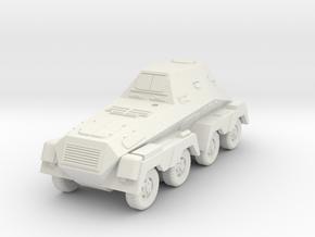 SdKfz 263, 15mm, 1/144 and TT scales in White Natural Versatile Plastic: 1:120 - TT