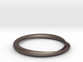 Minimum Continuity in Polished Bronzed Silver Steel: Medium