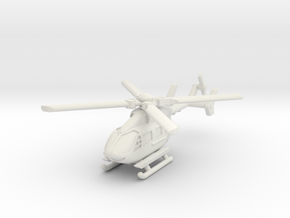 Eurocopter UH-72 Lakota 1/200 in White Natural Versatile Plastic