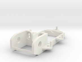 F1 motormount EVO in White Strong & Flexible