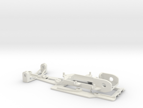 F1 chassis set EVO in White Strong & Flexible
