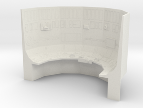 Death Star Red Conference Room, Assembled, 1/18 in White Natural Versatile Plastic