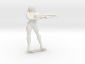 Raider Penny Pose 2 NSFW Slotta in White Natural Versatile Plastic