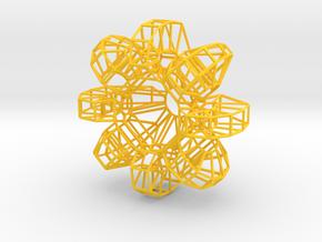 chandelier_tori_wire in Yellow Processed Versatile Plastic
