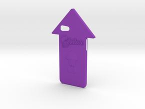 Iphone 7 Splatoon Squid Case in Purple Processed Versatile Plastic