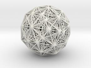 E8 root polytope, small in White Natural Versatile Plastic