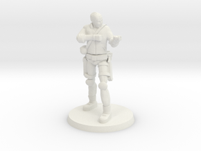 37 mm 'Bones' without Rifle in White Natural Versatile Plastic