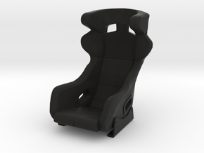 Race Seat TTRS-Type - 1/10 in Black Strong & Flexible