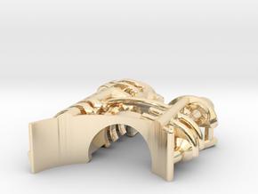 KR Ahsoka Shien - Part2 CC Insert in 14k Gold Plated Brass