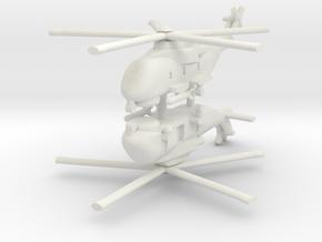 1/285 AW101 (HM1) Merlin (x2) in White Natural Versatile Plastic