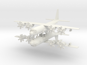 1/500 KC-130J Harvest Hawk (x2) in White Natural Versatile Plastic
