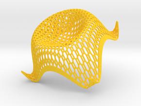 cosinus_honey_wire in Yellow Processed Versatile Plastic