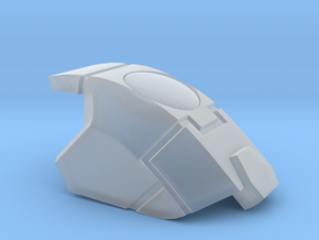 Stormwave - Shoulder Pad in Smooth Fine Detail Plastic: d8