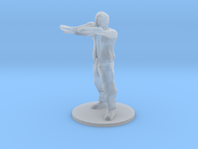 Daryl - The Walking Dead in Smooth Fine Detail Plastic: Large