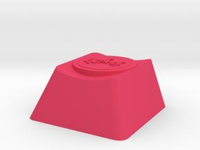 Overwatch Zarya Gravitation Surge Cherry MX Key in Pink Strong & Flexible Polished