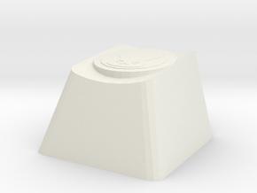 Overwatch DVA Self Destruct Cherry MX Keycap in White Natural Versatile Plastic