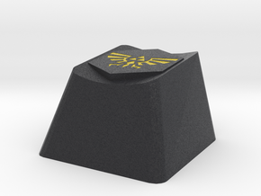 Zelda Triforce Cherry MX Keycap in Full Color Sandstone