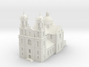 Farny Church_stl in White Natural Versatile Plastic