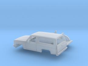 1/87 1980-88 Chevrolet Blazer Kit in Smooth Fine Detail Plastic