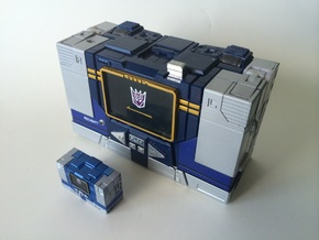 MP MICRO SOUNDWAVE in Smooth Fine Detail Plastic
