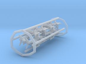 FJ-3M w/gear x8 (FUD) in Smooth Fine Detail Plastic: 1:400
