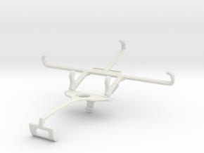 Controller mount for Xbox One S & BLU Studio G2 -  in White Natural Versatile Plastic