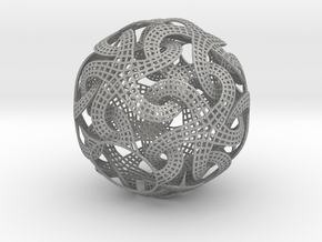 Lampshade_dodecahedron in Aluminum