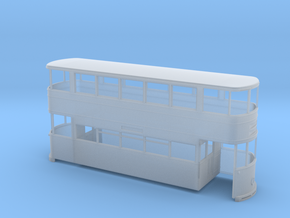 Sheffield Standard Tram Rebuilt 7mm in Smooth Fine Detail Plastic
