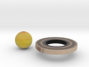 Saturn in Full Color Sandstone