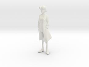 1/18 Ritsuko Akagi EVA in White Natural Versatile Plastic