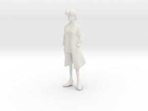1/20 EVA Ritsuko in Lab Suit in White Natural Versatile Plastic