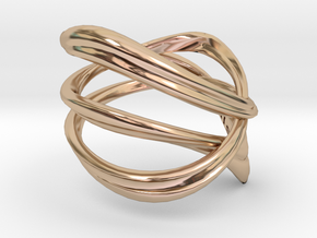 Milkyway Ring size US4.0 in 14k Rose Gold