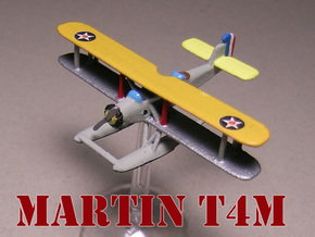 Martin T4M (two airplanes set) 1/285 6mm in White Natural Versatile Plastic