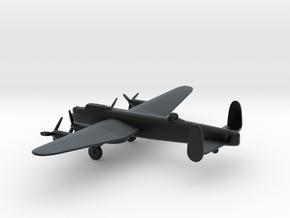 Avro Lancaster B.III in Black Hi-Def Acrylate: 6mm
