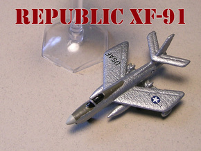 Republic XF-91 Thunderceptor Pair 6mm 1/285 in White Strong & Flexible
