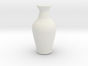 vase3 in White Natural Versatile Plastic: Small