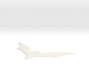 batarang boomerang in White Natural Versatile Plastic