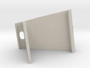Tablet Holder in Natural Sandstone: Extra Large