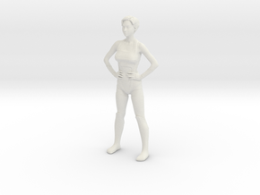 Nova - Power pose in White Natural Versatile Plastic