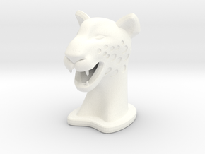 Cheetah SMALL in White Processed Versatile Plastic