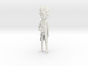 Rick in White Natural Versatile Plastic