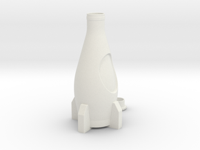 Nuka Cola Bottle in White Natural Versatile Plastic