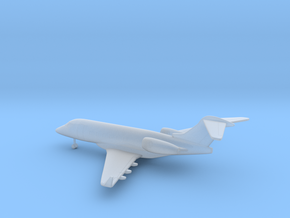Bombardier Challenger 300 in Smooth Fine Detail Plastic: 6mm