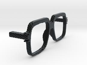 CAZAL REMIXED in Black Hi-Def Acrylate