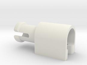 IKEA Renlig DW60 Basket Wheel Axle (801.525.13) in White Natural Versatile Plastic