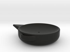 1/10 oil drain pan in Black Natural Versatile Plastic