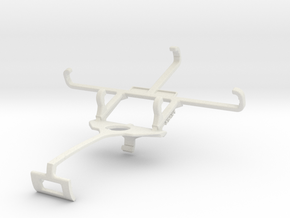Controller mount for Xbox One S & Unnecto Quattro  in White Natural Versatile Plastic