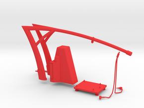 MPT - Pit Stop Machine Ferrari F1 (1/43 or 1/32) in Red Processed Versatile Plastic: 1:43