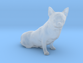 Scanned Chihuahua Dog -888 in Smooth Fine Detail Plastic